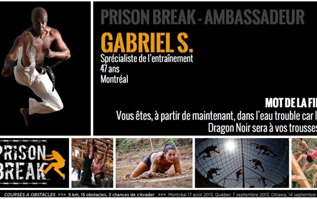 Gabriel S. MTL   Prison Break Obstacle Race - August 17, 2013, Bromont - QC