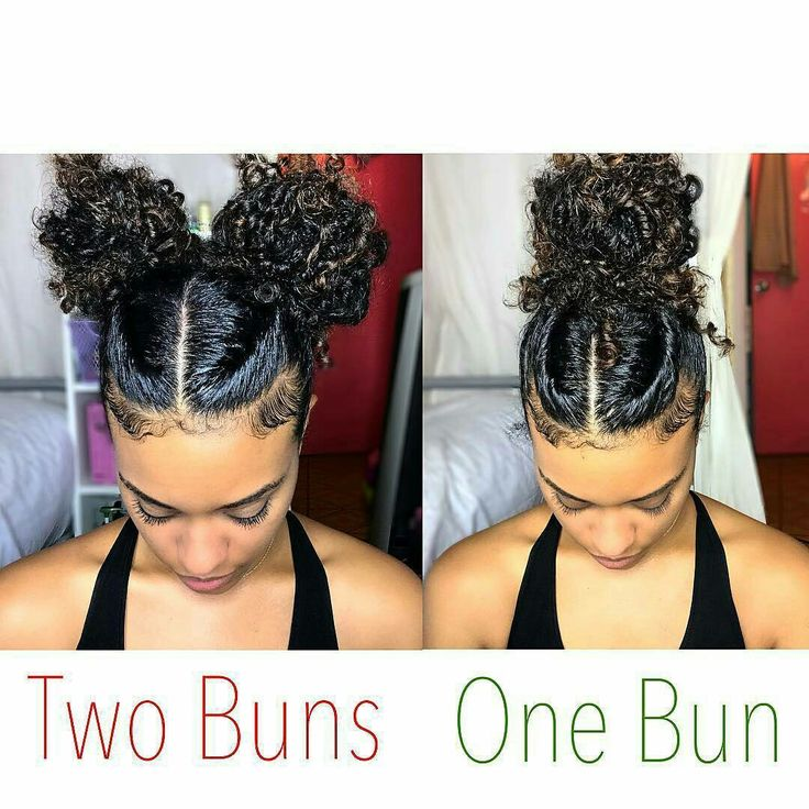 Cute and easy natural hairstyle#manelovers