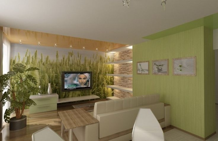 Id e d co salon ambiance zen en vert et beige salon moderne pinterest p - Idee deco salon beige ...