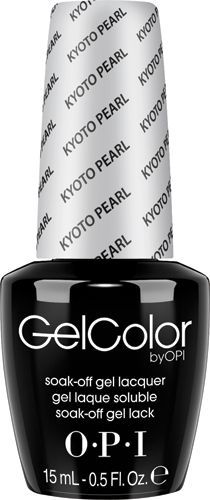 OPI Gel – GCL03- Kyoto Pearl .5oz - Diamond Nail Supply, LLC