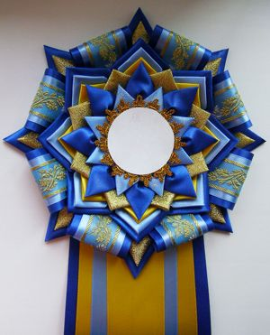 Another beautiful Kanzashi project -- Quilt Show ribbon inspiration 2