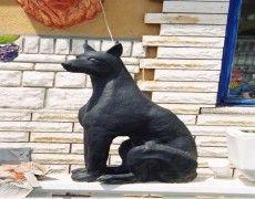Doberman Dog Statue