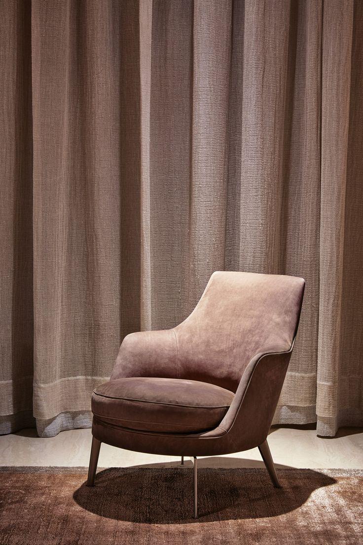 #FLEXFORM GUSCIO #armchair #design Antonio Citterio