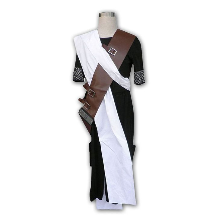 Naruto Cosplay Costume - Gaara 1st Black XX-Large ** Be sure to check out this awesome product.