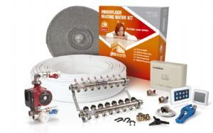 ProWarm water underfloor heating | multiple room kit 8 zones