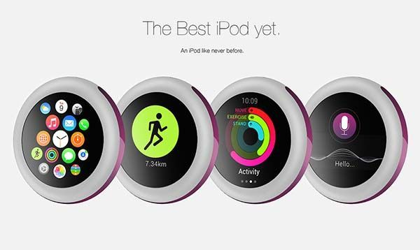 The iPod Pro is a Concept Fitness Tracker Inspired by Apple Watch