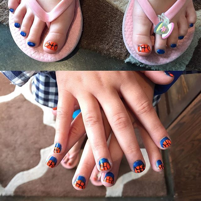 Isn T This The Cutest Princess Mani Pedi Double Click If You