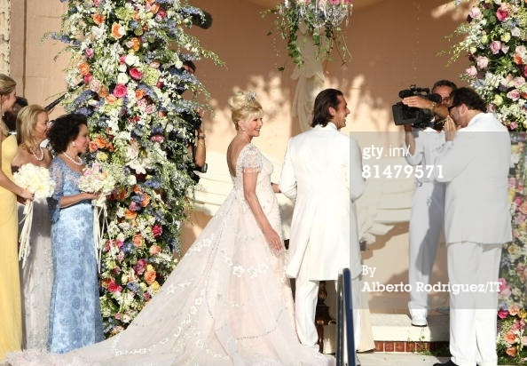 Red Carpet Wedding: Ivana Trump and Rossano Rubicondi ~ Red Carpet Wedding
