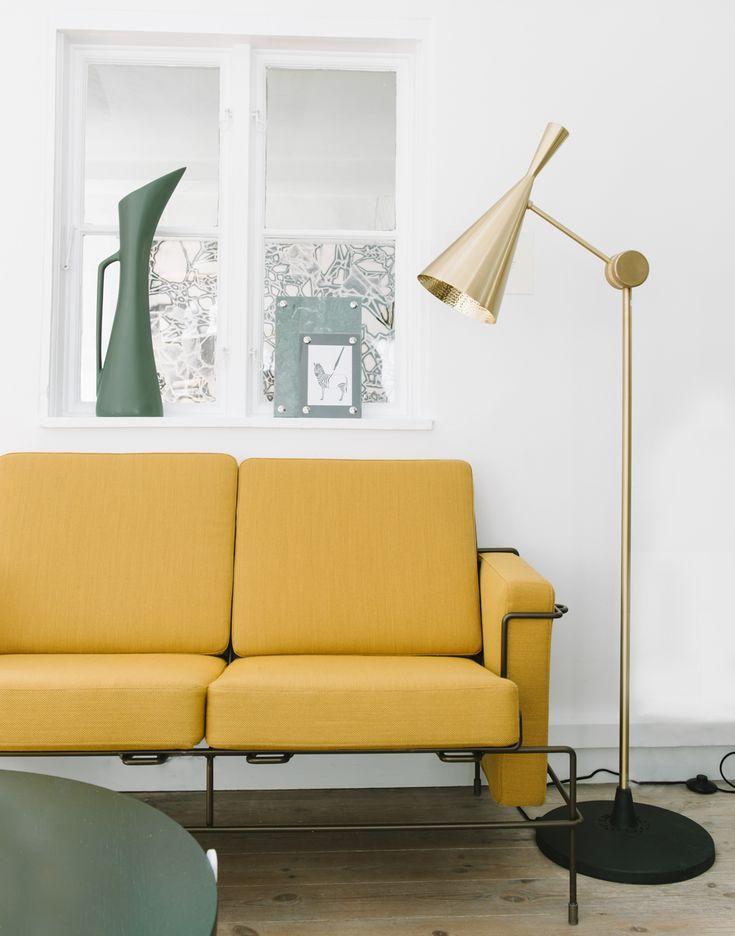 Yellow couch from Magis - model: Traffic      Sonoma Seven   Mit nye job i PR-branchen   http://sonomaseven.dk