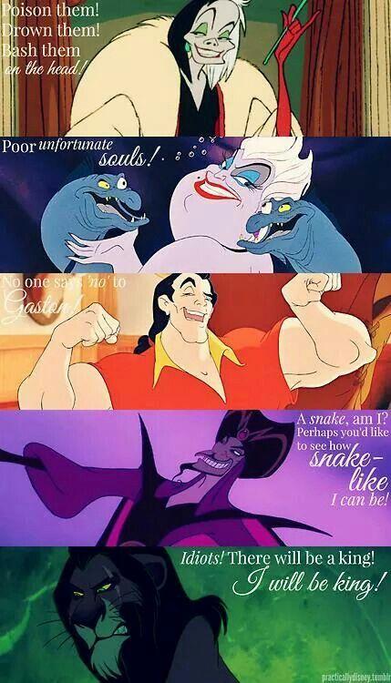 Disney Villains Quotes (part 2)