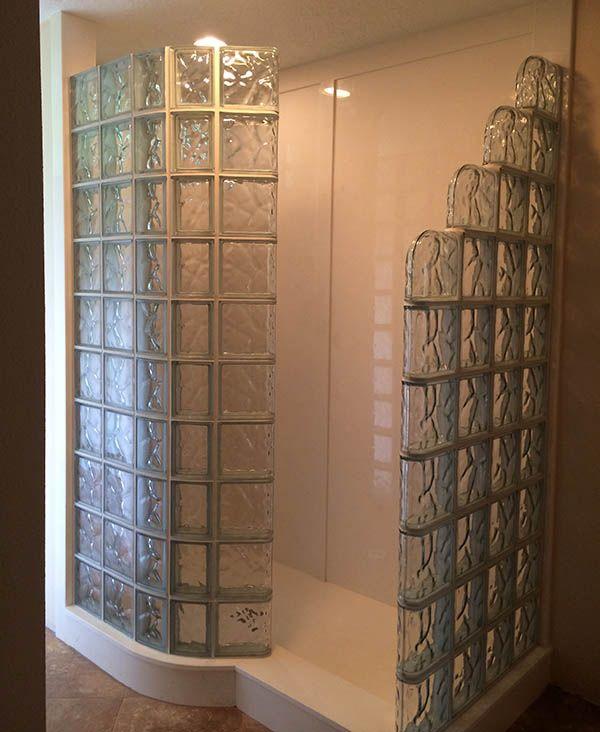 120 best images about bathrooms on pinterest corner for Doorless glass shower