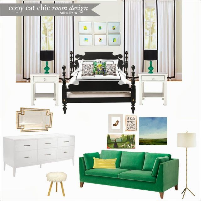A Colorful And Cheerful Chic #bedroom For $5496