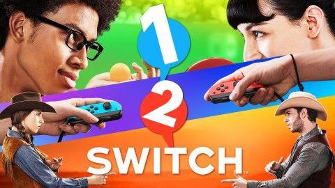 A chaque console Nintendo son Party-Game, pour la Nintendo Switch ce sera 1-2-Switch qui ouvrira le bal des soirées entre amis.  1-2-Switch annoncé sur Nintendo Switch Après Wii Sports et Wii Play, voici1-2-Switch, le nouveau party-game de la firme de Kyoto à destination de sa future console.   #1-2-Switch #Nintendo #Switch