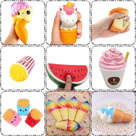 Mobile Phone Accessories Squishy Cake Dessert Macaron Squishies Slow Rising Soft Squeeze Stuffed Squishy Toys Phone Decor Charms Mobile Phone Straps# Cellphones & Telecommunications