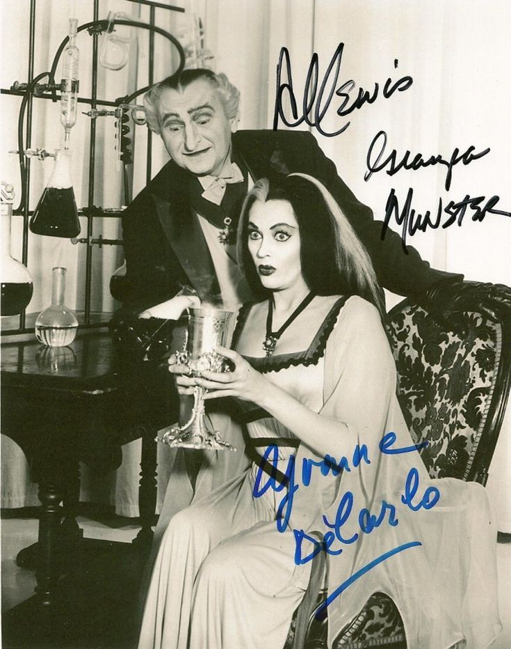 Grandpa and Lily  https://www.pinterest.com/lvsmunsters/the-munsters-1964-1966/