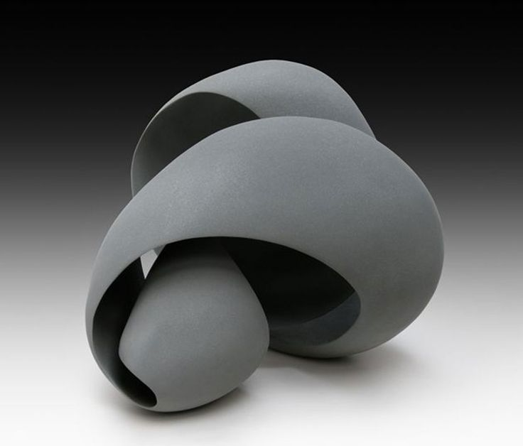 Modern ceramic sculpture by Merete Rasmussen
