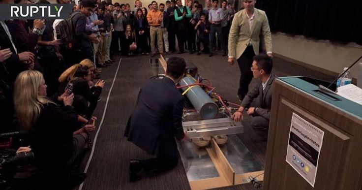 «Θα αλλάξει τον τρόπο ζωής μας»: Η μελλοντική τεχνολογία για τα τρένα (βίντεο)