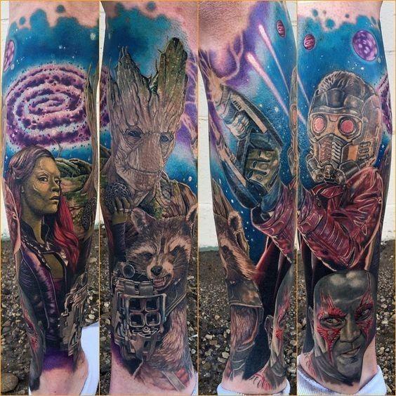 Best 25+ Marvel Tattoos Ideas On Pinterest