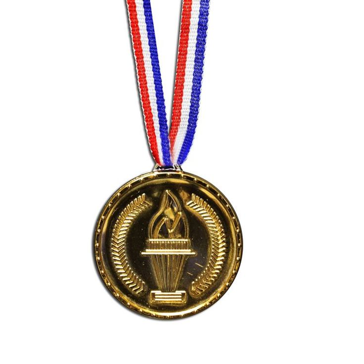 "Gold Prize 2"" Medals - 12 Pack 