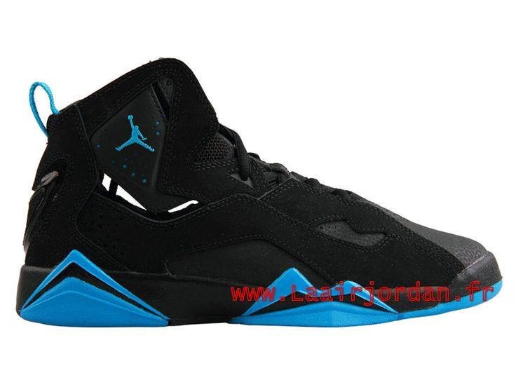 4691dbecf99 ... Air Jordan True Flight AJ7 Chaussures Jordan Officiel Site Pour Homme  POWDER BLUE 343795-007 ...