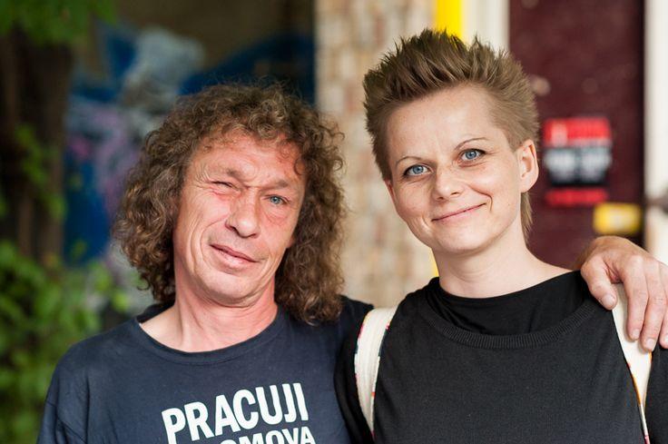 with Honza Badalec