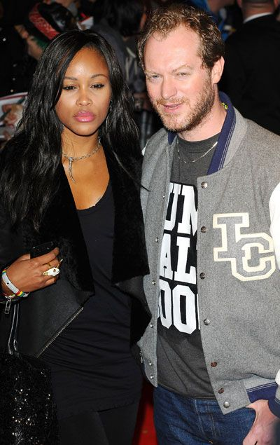 Eve E had no qualms about getting her swirl on with mogul and race-car driver Maximillion Cooper. T