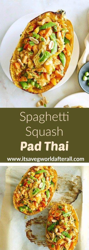 Spaghetti-Kürbis-Auflage thailändisch