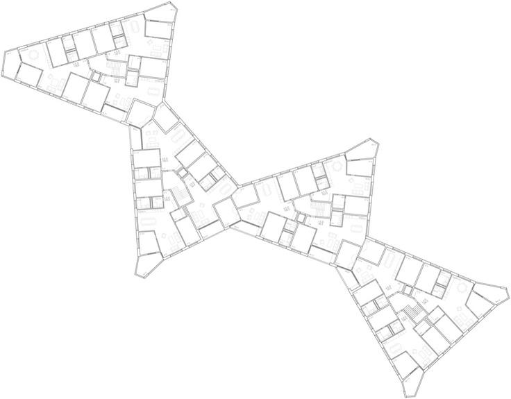 Competition Siedlung Wädenswil, Esch & Sintzel Architekten 2012