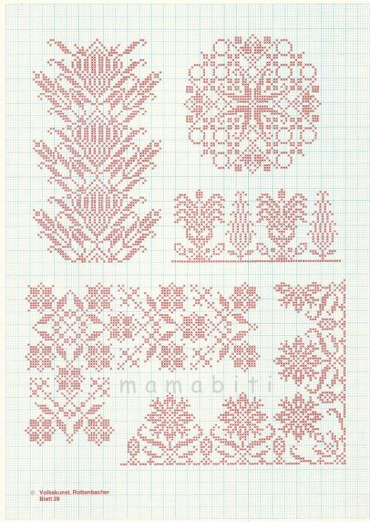borders and motifs again