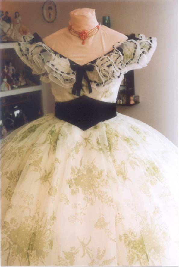 fave dress from gone with the wind...