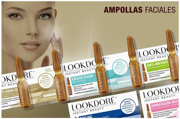 Cosmetics&Go: LOOKDORÉ AMPOLLAS FACIALES - INSTANT BEAUTY