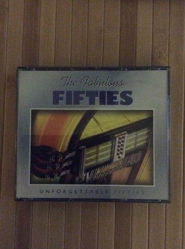 The Fabulous Fifties Unforgettable 50s 3 CD Set Heartland Music 50
