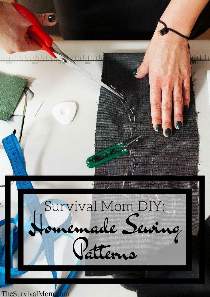 Creating your own sewing pattern is easier than you think -- let your creativity flow! :)