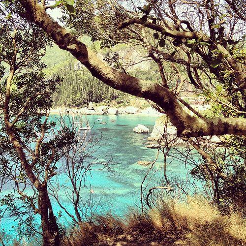 Rovinia Beach (Liapades) Corfu Copyright © Ellie Tsatsou