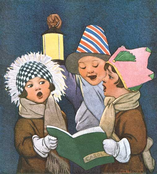 Joy And Noel Holiday Caroler: 1000+ Images About Christmas Carolers On Pinterest