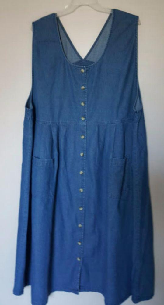 Image result for 3x denim dress