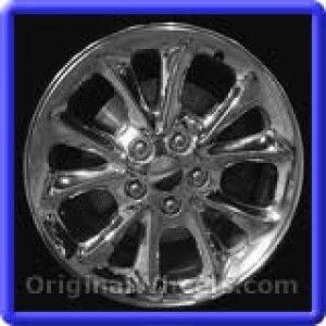 Chrysler 300M 1999 Wheels & Rims Hollander #2115A  #Chrysler #300 #Chrysler300M #1999 #Wheels #Rims #Stock #Factory #Original #OEM #OE #Steel #Alloy #Used