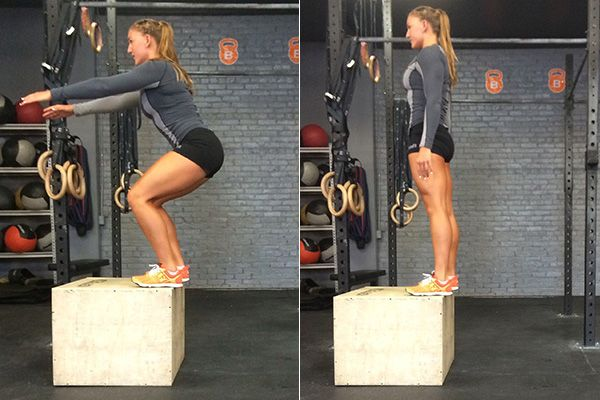 Work Your Entire Body With THIS Killer Move From CrossFitter Amanda Douglas| THE MOVE: Burpee Box Jumps (Pt. II)