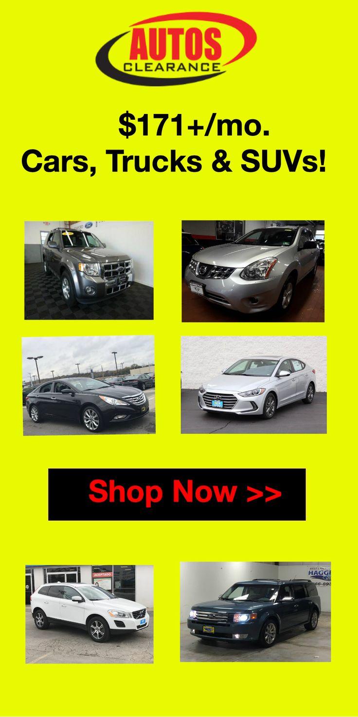 171+/mo. Cars, Trucks & SUVs! Automotive technician