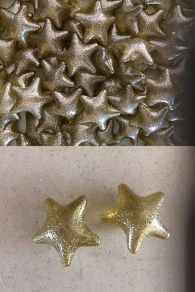 Bath Oils: Bath Beads - Stars - Lot Of 131 Beads BUY IT NOW ONLY: $65.5