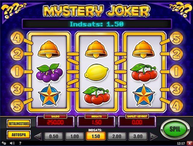 Spela Mystery Joker for rigtige penge