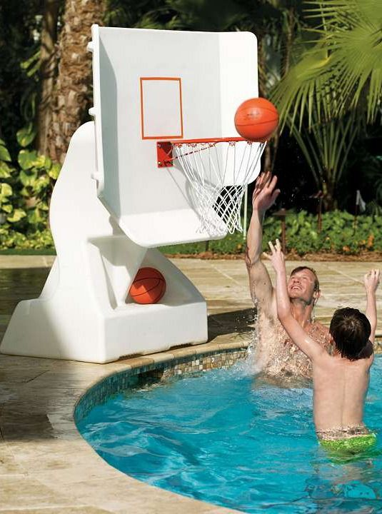 17 best images about lake house lake water fun on - Basketball goal for swimming pool ...