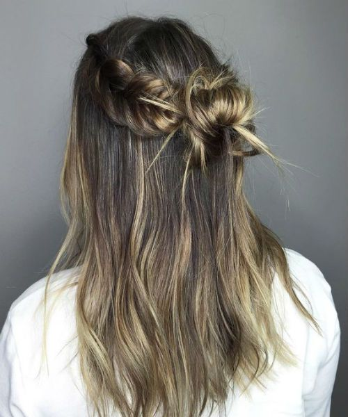 New Half Up Half Down Lange Prom Frisuren, die wirklich schön sind