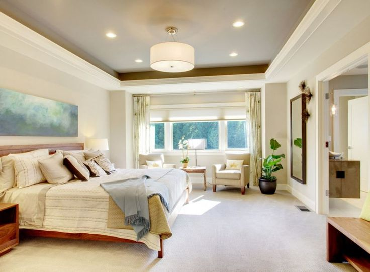 Design Ideas for a Recessed Ceiling | Ceiling, Taupe and Master ...