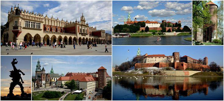 #architecture #collage #history #krakow #monument #poland #tourism