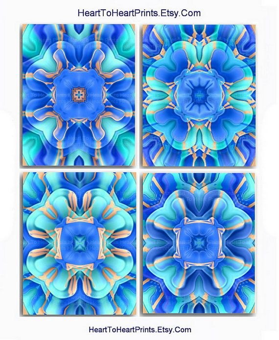 Cabbage Rose Flower Print Purple Abstract Art Kitchen Wall: 17 Best Ideas About Royal Blue Bedrooms On Pinterest