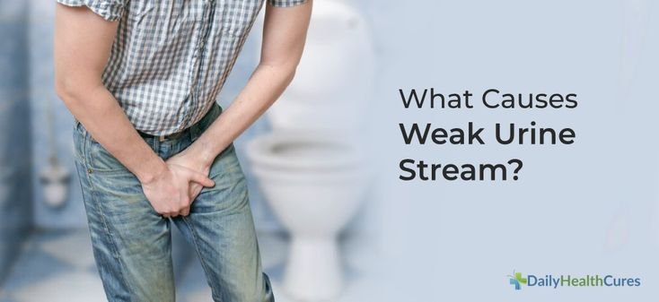 Weak urine stream causes and home remedies how to grow