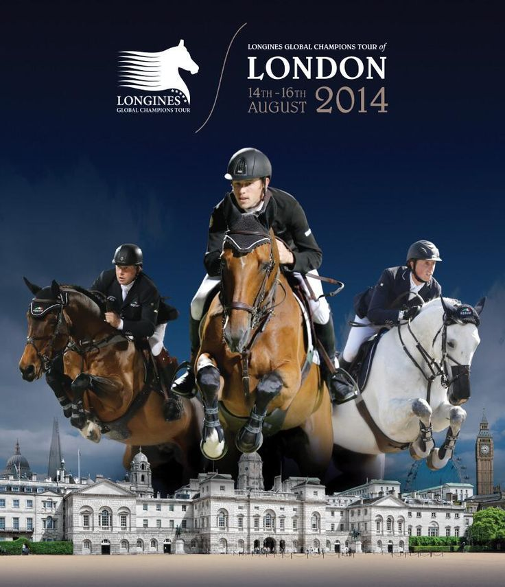 Look out London! Longines Global Champions Tour is coming.... 14-16 August.... Have you got your tickets yet? #showjumping #BenMaher #ScottBrash #NickSkelton