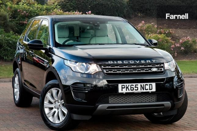 Land Rover Discovery Sport 2.2 Sd4 Se 5Dr Diesel in Black