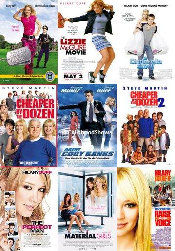 Observation 1- Introduction:  Hillary didn't limit her acting to Lizzie McGuire. She played in many movies and other tv shows. She played in movies like The Lizze McGuire movie, Cadet Kelly, Agent Cody Banks, and Cheaper by the Dozen at the age of 16. and more. Eventually she decided she wanted to get away from the tween movies, and star in more mature movies to be taken seriously. She starred in The Perfect Man and Material Girls.